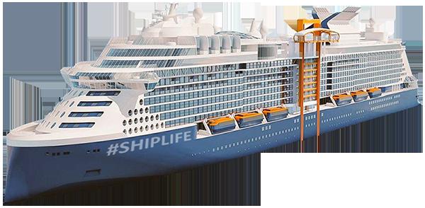 Celebrity #SHIPLIFE Cruise ship transparent png