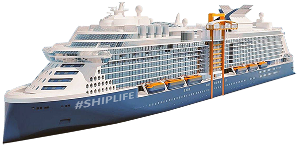 Celebrity #SHIPLIFE Cruise ship transparent png