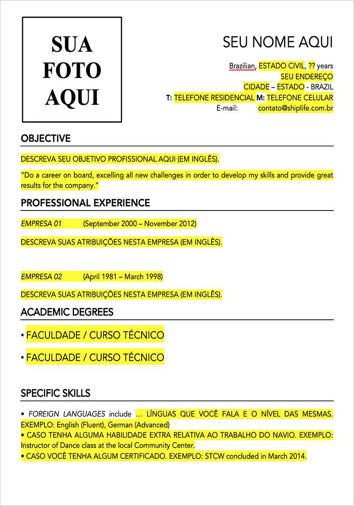 Resume Template - Model 03